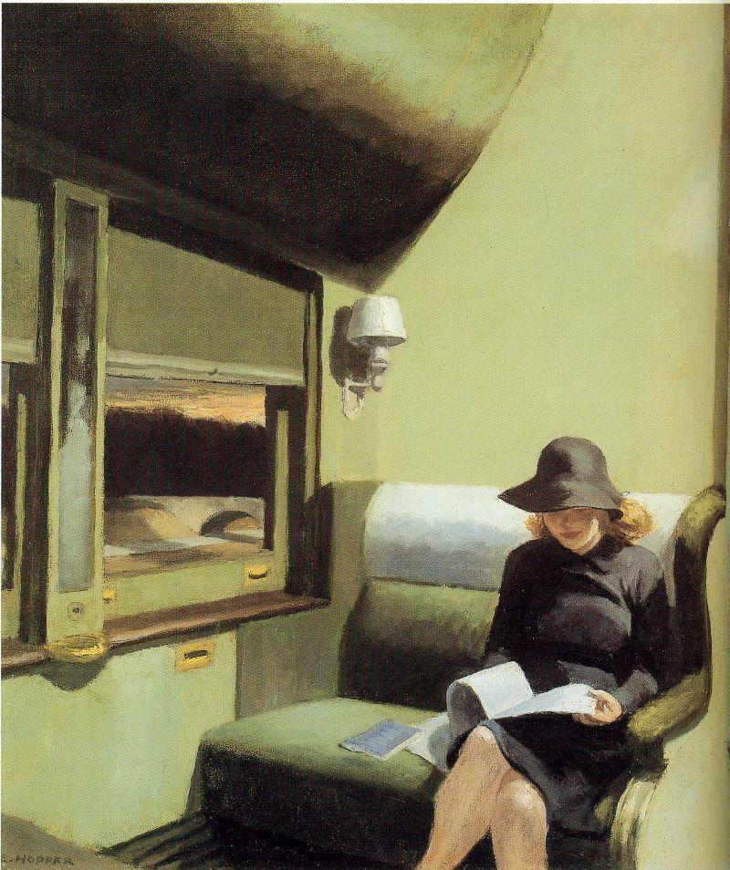 Compartment C, car 193, de Edward Hopper.