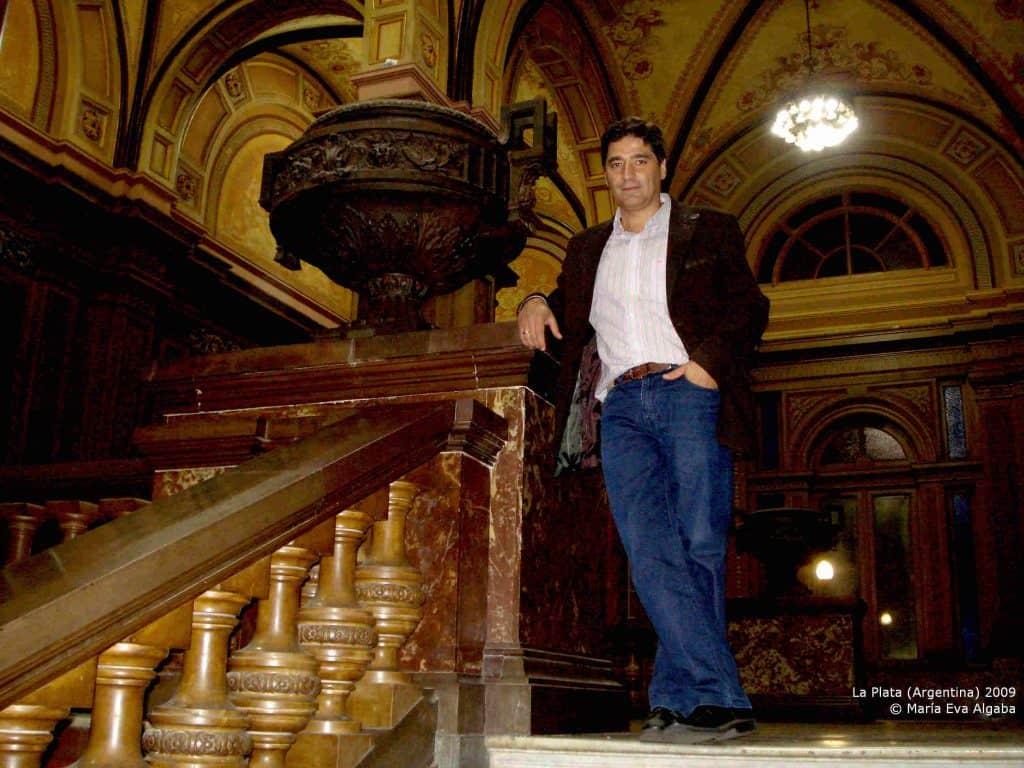 Francisco Rodríguez Criado, en La Plata