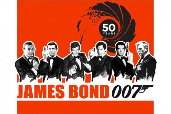 James Bond textamentos