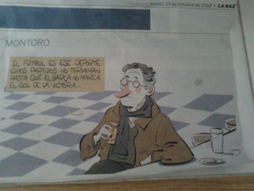 viñeta de humor de Borja Montoro