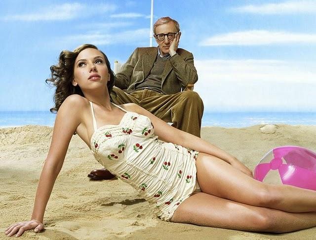 Woody Allen con Scarlett Johansson