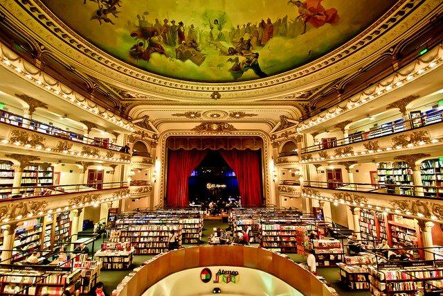 Librería Gran Splendid en Buenos Aires