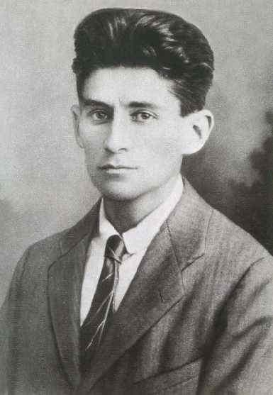 Franz Kafka, cuento, partida