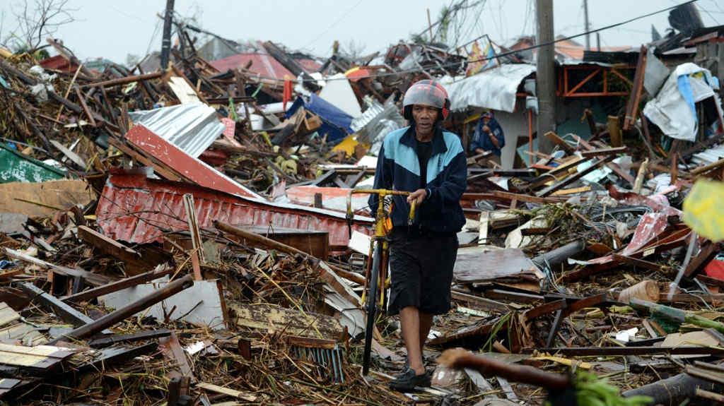 tifón, Filipinas