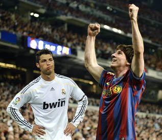 Messi y Cristiano Ronaldo, fútbol, Real Madrid, Barça
