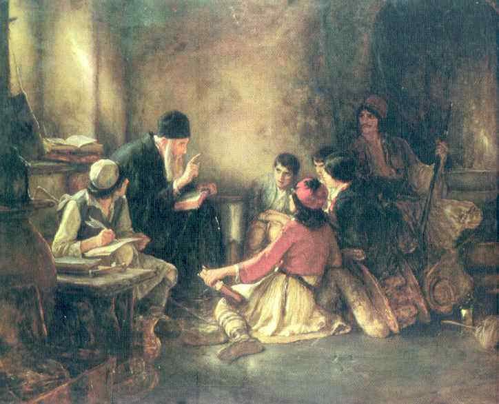 monjes de la lectura