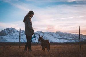 chica con perro, Juan Rulfo