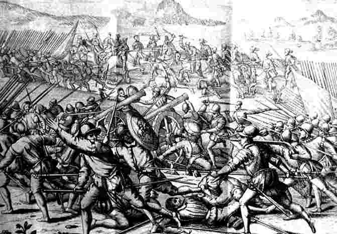 La batalla de Las Salinas, El Diario Down, fragor de la batalla