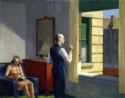 Hopper, microrrelato, Manuel Pastrana Lozano