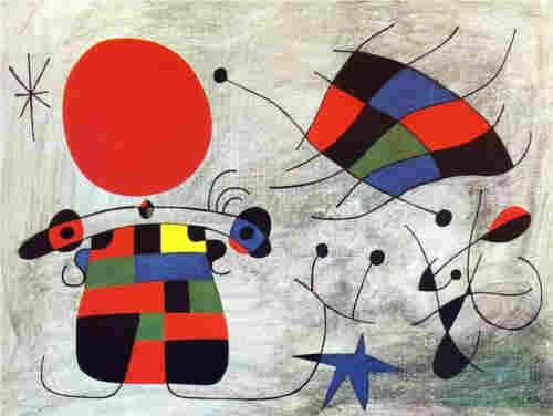 Miró, cuadro