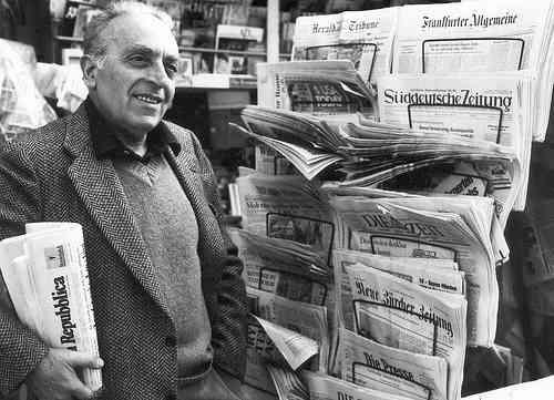 Escritor italiano Luigi Malerba