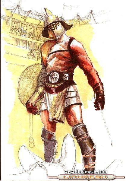 Microrrelato, José Luis Vicens, gladiador