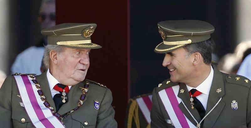 Rey Juan Carlos I, monarquía, cambio real, Rey Felipe VI