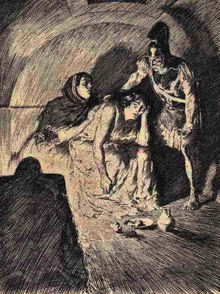 la matrona de éfeso, petronio