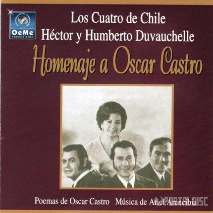 Óscar Catro, Los cuatro de Chile