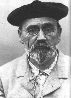 Émile Zola, gorra vasca, muerte