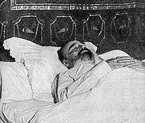 Emile Zola, muerto