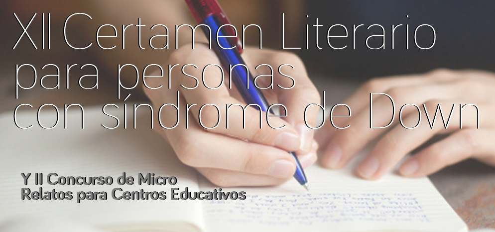 síndrome de Down, certamen literario, concurso