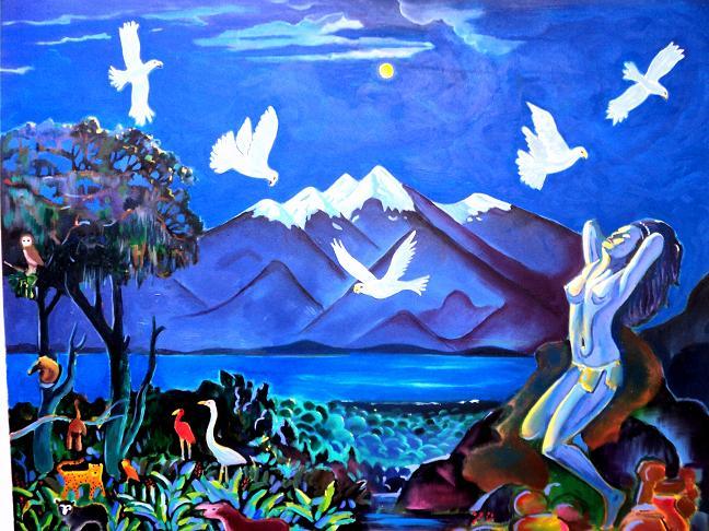 Leyenda de las cinco águilas blancas