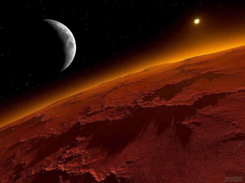 Terrícolas en Marte