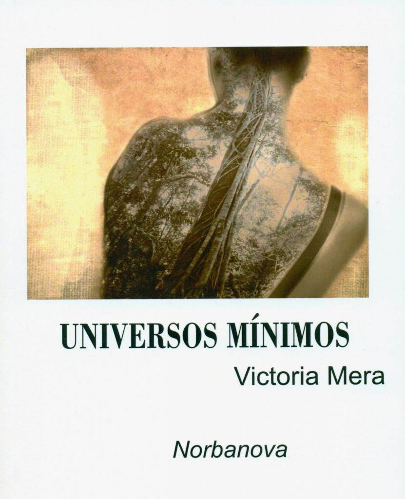 Portada, Universos mínimos, Victoria Mera