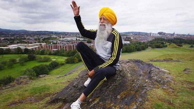 maratón y curry, Fauja Singh