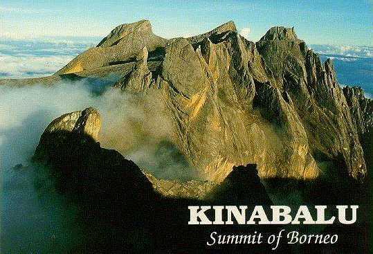 Monte Kinalabu, Borneo