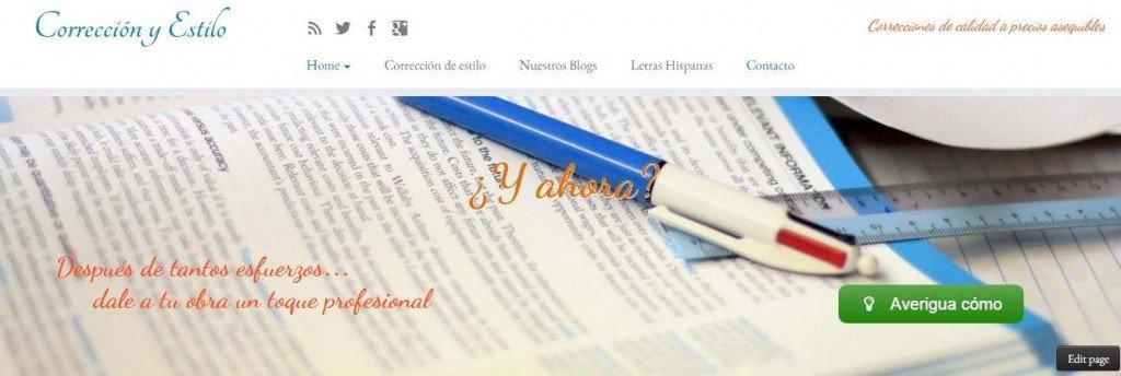 Blog Corrección y Estilo