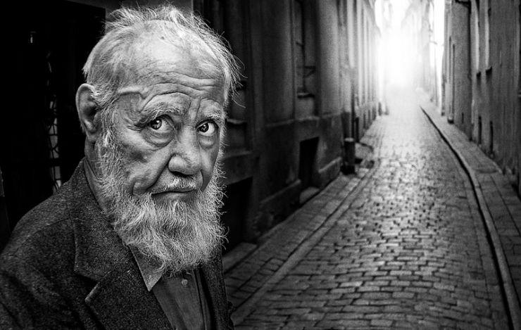 El anciano sin memoria