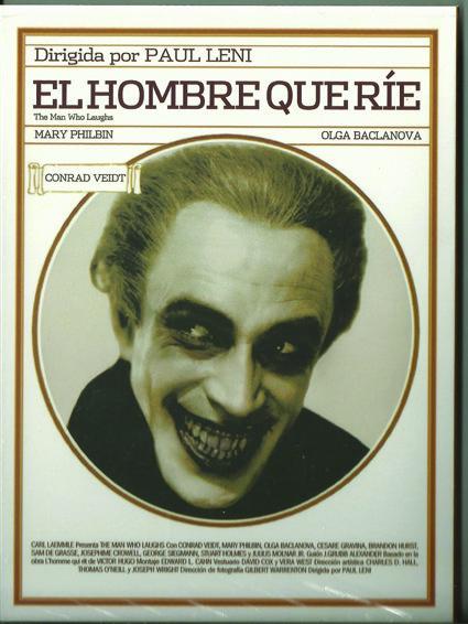 el hombre que ríe, Salinger