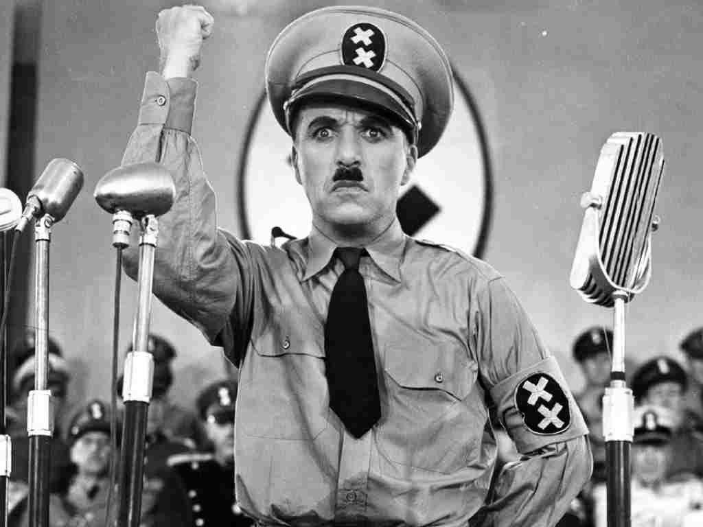 El Gran Dictador, Chaplin, microrrelato