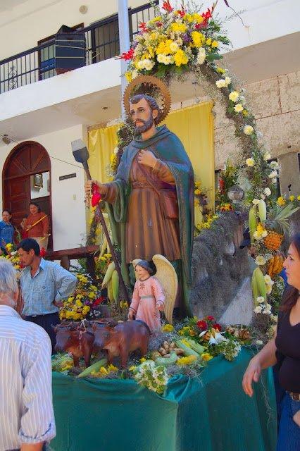 Procesión del santo