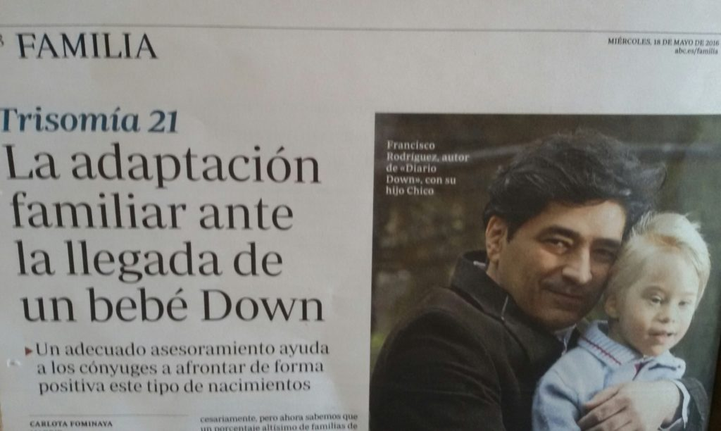 El síndrome de Down, Abc, El Diario Down, Francisco Rodríguez Criado