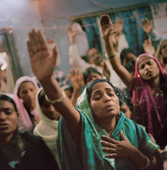 Cristianas en la India
