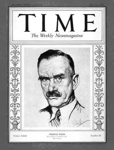 Un cuento de Thomas Mann