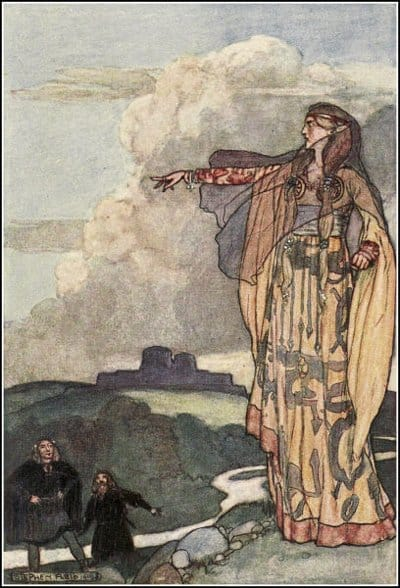 Emain Macha. Un viejo mito irlandés