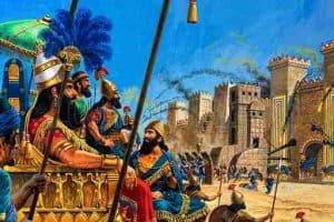 Cuento, Los dos reyes y los dos laberintos