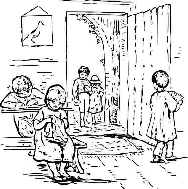 Tres microrrelatos sobre el colegio