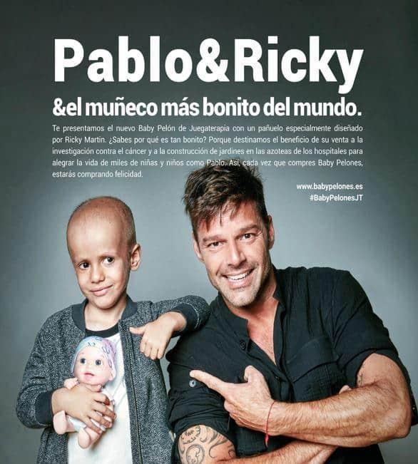 Ricki Martin, muñecos Baby Pelón