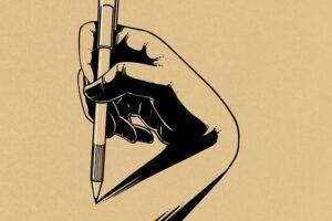 el escritor aislado, cuento
