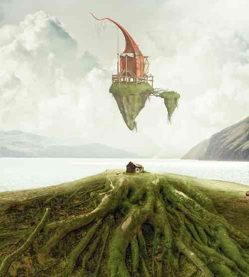 raíces al viento, poema