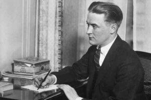 la tarde de un escritor, Fitzgerald